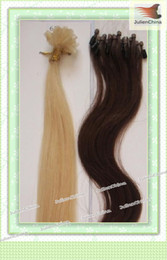 Wholesale 22 quot quot quot quot Loop Micro Ring Remy Human Hair Extensions g strand strands