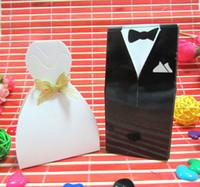 Wholesale Candy Boxes Wedding Dress amp Suit Candy Bags Gift Boxes Candy Box candy boxes pairs