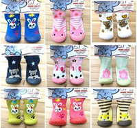 Wholesale Christmas Gift Brand new skidders baby Non slip shoes Baby First Walker Shoes