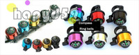 Wholesale 6pcs bell bicycle bell folding compass bike bell ring bicycle handlebar aluminum compass ring