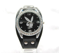 Wholesale PlayBoy Watch Popular fashion girl watch Battery gifts color optional