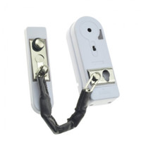 Wholesale White FK Plastic Smart Door Alarm Automatic Announciator Warner Protector for Door Gate