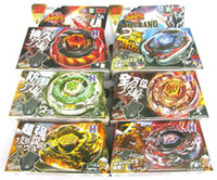 Wholesale 12 Rapidity Beyblade D Beyblade Metal Fusion Beyblade models mix Spin Top Toy for Gifts