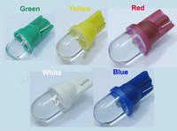 Wholesale Bashboard Led T10 Side Light Bulb W5W Car Led Blue Green Yellow Red White Wedge Lamp