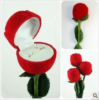 Wholesale Jewelry Boxes Valentine s Day Birthday Wedding Ring Box Rose Ring Box ring box