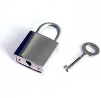 Wholesale Baby Nickel Plated Padlock BDSM sex products adult product adult toys