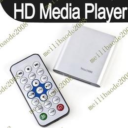 Wholesale 2pcs B93 P HDMI SD USB HD Mini Media Player MKV RM RMVB