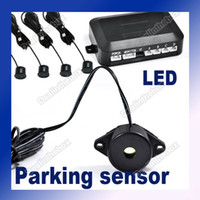 323g 0.3~1.9m 20MA-30MA Car Parking Reverse 4 Sensors Backup Radar Rear System Alarm Waterproofing #1686