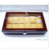 Wholesale brand new Wood watches box Grid Watches Display Storage Box
