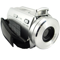Wholesale HD camorder DV T digital vide Camera with Telescope Zoom Lens digital camcorder DV DVC PC