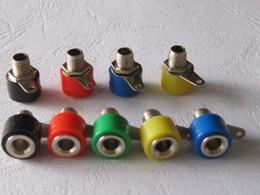 50 pcs hot sale Banana Jack Binding Post For 4mm Banana Plug Red Black Yellow Green Blue