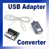 Wholesale USB To RS RS Converter Adapter Cable Serial