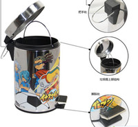 Wholesale Cartoon foot bin stainless steel trash can