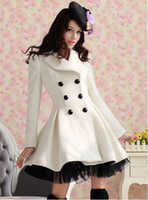 Winter Fashion Coats 10099 Cute And Elegant Lace Trim Women'...