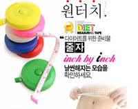 Wholesale Sewing Tailor Plastic Tape Measure Measurement Scale Soft Fitness Caliper Ruler Amount Of Clothing
