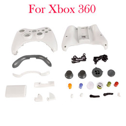 Wholesale For Xbox Controller Shell Full Faceplate Case Mod Game Accessories White V00071