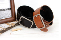 Wholesale Fashionable belt for men and women leather belt lovers waist belt hot sale