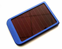 Wholesale Solar mobile charger Battery Charger Colors For digital camera MP3 MP4 mobile phone