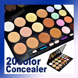 Wholesale Pro Makeup Color Plastic Camouflage Concealer Palette Black