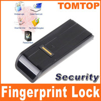 Wholesale Security USB Biometric Fingerprint Reader Password Lock for Laptop PC protect computer files C1300B
