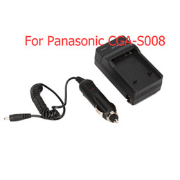 Wholesale Camera Charger For Panasonic CGA S008 DMC FS5 Brand New Home And Travel Use D7202