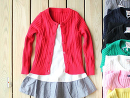 Wholesale new baby cardigan sweater Boys and girls long sleeved sweater Family fitted cotton sweater