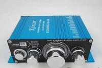 Wholesale Mini Hi Fi Audio Stereo Digital Car Amplifier Motorcycle Boat Blue