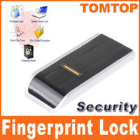 Wholesale USB Biometric Fingerprint Reader Password Lock for Laptop PC computer Silver C1300S cntomtop
