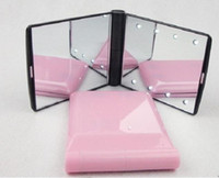 Wholesale NEW Makeup Compact Cosmetic Mirror w LED Light Lamp Only