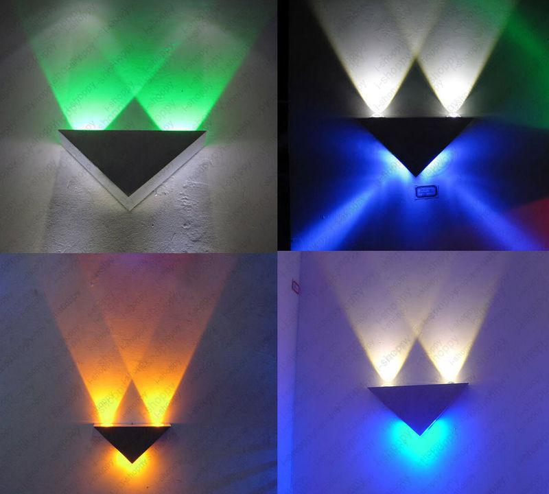 Led Background Wall Design : Unique design fashion style led wall sconces hall bar