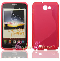 Wholesale 300pcs New S Line TPU Gel Case Cover for Samsung Galaxy Note N7000 i9220