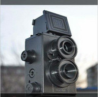 Wholesale 100 good quality digital camera DIY mm Film Recesky Twin Lens Reflex Camera Vo LOMO digital