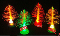 Wholesale E mini Christmas tree Christmas tree installed fiber optic Christmas tree Christmas gifts