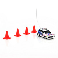 Wholesale Coke Can Mini RC Radio Remote Control Micro Racing Car Blue high quality