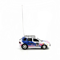 Wholesale New Arrival Control Toy Coke Can Mini RC Radio Remote Control Micro Racing Car Blue high quality