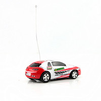 Wholesale Cool Gift Toy Car Coke Can Packed Mini RC Radio Remote Control Micro Racing Car Red toy2011
