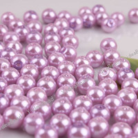 Wholesale 420x New Fashion Glass Faux Pearls Loose Bead mm Fit European Bracelets DIY