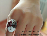 Bohemian beijing jewelry - Jewelry silver plated crystal restore ancient ways ring Beijing Opera at face ring