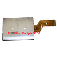 Wholesale Replacement Digital Camera LCD Screen Display For Nikon Coolpix S200 Brand New D2P04