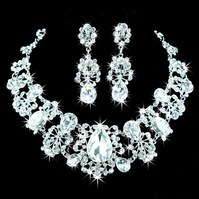 Bridal Necklace Diamond Set Chain Diamond Necklace Bridal Sets Of Chain Bridal Jewelry Za 9555