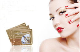 Wholesale Hot selling Eye Contour Crystal Collagen Mask sleep mask Remove pouch eye care mask packages