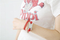 Wholesale watch fashion Braided Leather Cord bracelet watch Lady watch Nice watch