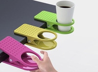 wholesale drinks - Pieces Plastic Office Tea Drink Cup Holder Cup Stand Cup Clip