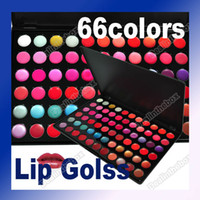 Wholesale Professional Color Lip Gloss Lipstick Makeup Cosmetic Palette