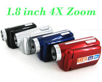 Wholesale 30pcs MP inch TFT LCD Digital Video Camera X Zoom MP With LED Flash Light DV139 frees