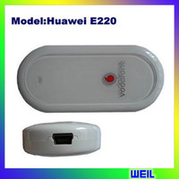 Wholesale 3G HSDPA Modem Huawei usd model mhz E220 WEIL