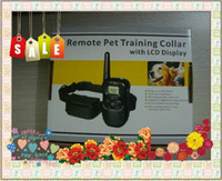 Wholesale DHL Christmas gifts Remote pet Control Training collar Anti Bark Collar Stop Barking