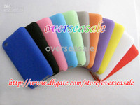 Wholesale Soft silicone silicon Back case cover cases skin for itouch iPod Touch th G gen