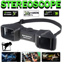 Wholesale Multiple Media Compatible D Stereo Stereoscope Viewer Stereoscopic D Glasses with Adjustable Knob