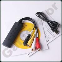 Wholesale Easycap USB Video TV DVD VHS Capture Adapter